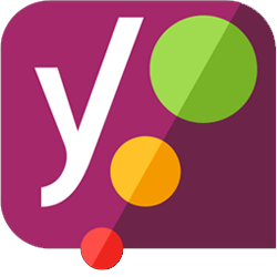 לוגו תוסף Yoast SEO